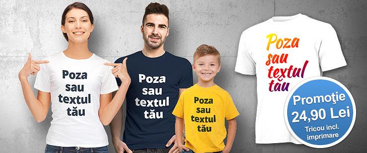 Pret print tricouri