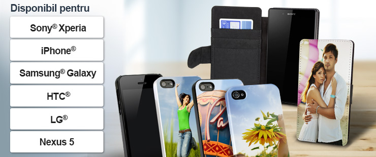 Toate carcasele sunt disponibile pentru iPhone, Galaxy, HTC One, LG, Sony Xperia, Nexus, Motorola, Huawei, Nokia și Amazon